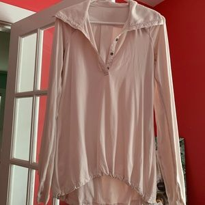 Blush pink lululemon pullover